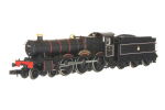 2S-010-004D Dapol Hall 5908 Moreton Hall BR Early Lined Black (DCC-Fitted)